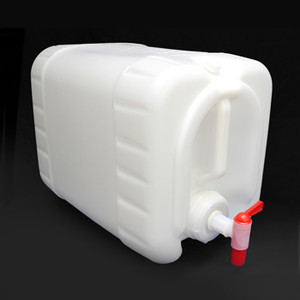 Rectangular Carboy, 5 gallon HDPE with Spigot
