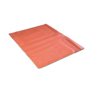 Poly liner Bags for Solid Waste Container, Red, case/100