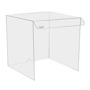 "Acrylic Draft Shield/ Hood, Large 18"" x 18"" x 19"""