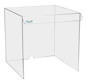 "Acrylic Draft Shield/ Hood, Medium 15"" x 15"" x 15"""
