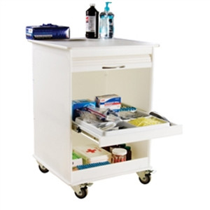 "Maui Lab Island Two Foot Lab Cart by TrippNT, 24"" x 34.5"" x 23.5"""