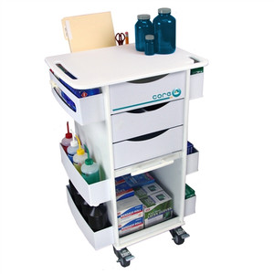 "Core DX Storage Lab Cart by TrippNT, 23"" x 34.5"" x 17.5"""