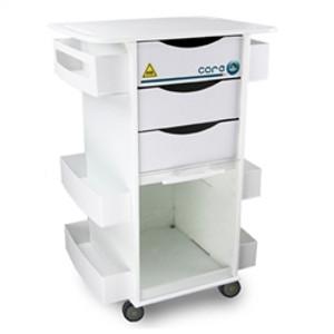"MRI Core DX Storage Cart by TrippNT, 23"" x 34.5"" x 17.5"""