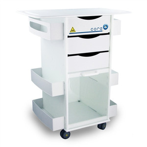 """MRI Core DX Storage Cart, Extended 29-Inch Top, 29"""" x 34.5"""" x 17.5"""""""