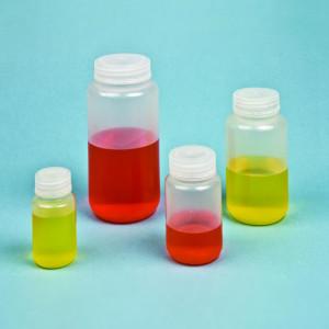 125mL Reagent Bottle, Wide Mouth, PP, case/500