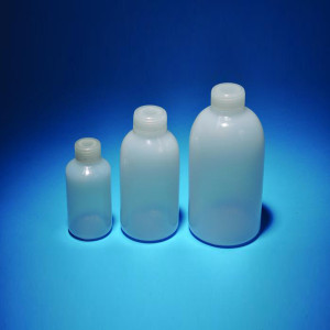 250mL Reagent Bottles, Narrow Mouth, HDPE, case/250