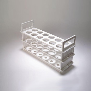 3 Tier Test Tube Rack for 25mm Tubes, 12 Places, case/2