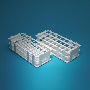 Non-Floating Test Tube Racks, PP, 20mm, 40 Places, case/6