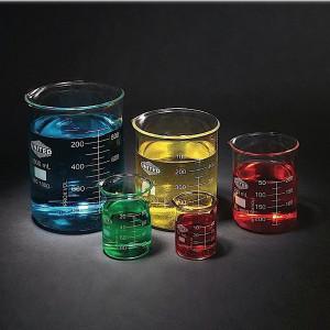 Glass Beaker Set of 5