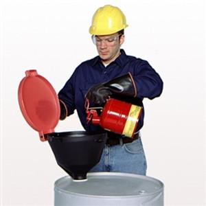 "Burp-Free Drum Funnel, Standard fits 2"" NPT"