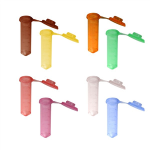 Microcentrifuge Tube, 2.0mL, G-Tube, Flat Top, pack/500