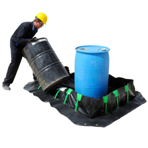 Spill Containment Berms, Compact Folding