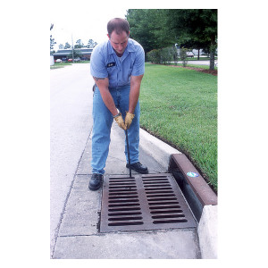 Grate Lifting Hook for Storm Drains, Manual