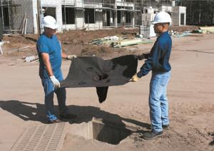 Drain Guard Filter to Remove Oil and Sediment, 0.83 gallon