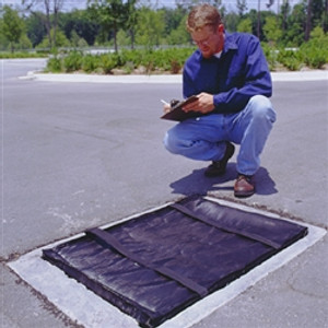 "Grate Guard to Filter Sediment from Stormwater Runoff, 18"" x 24"""