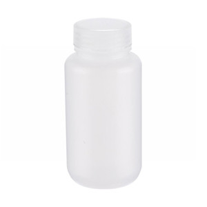 WHEATON® 250mL Leak Resistant Star Bottles, Wide Mouth, LDPE, 43-410 Caps, case/72