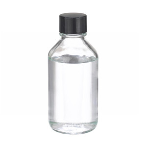 WHEATON® 250mL Bottles, Media, Borosilicate Glass Media, Polyethylene Lined Caps, case/48
