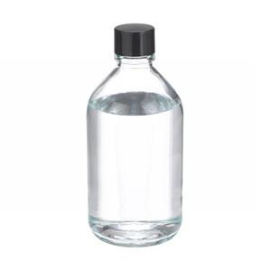 WHEATON® 500mL Media Bottles, Borosilicate Glass, Polyethylene Lined Caps, case/24
