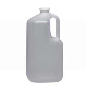 WHEATON® 1 Gallon Jug, Square, HDPE, Vinyl Lined Caps, case/4