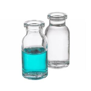 WHEATON® 10mL Serum Bottles, Clear Borosilicate Glass, Crimp Top, case/288