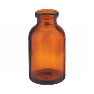 WHEATON® 10mL Amber Serum Bottle, Borosilicate Glass, Crimp Top, case/288