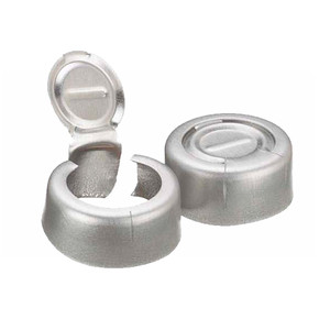 WHEATON® 13mm Crimp Seal, Tear-Off, Aluminum, Unlined, case/1000