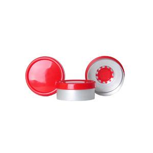 WHEATON® 20mm Crimp Seal with Flip-Caps, Aluminum, Unlined, case/1000