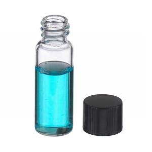 WHEATON® 2mL, Economy Vials, Glass Clear, 8-425 Caps, Rubber, case/200