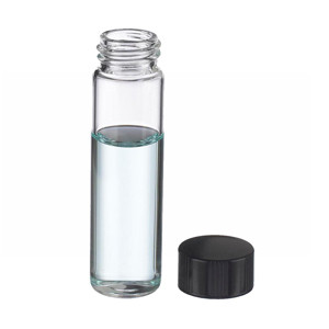 WHEATON® 8mL, Economy Vials, Glass Clear, 15-425 Caps, Rubber, case/200