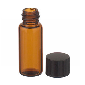 WHEATON® 1.8mL, Economy Vials, Glass Amber, 8-425 Cap, Rubber Liner, case/200