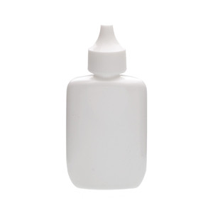 WHEATON® 35mL Bottles, Oval Spray, LDPE, White, PP Caps, case/144