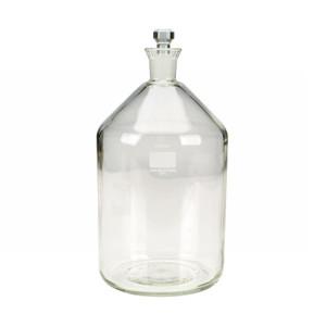 WHEATON(R) 2 Liter BOD Bottle, Glass Robotic Stopper