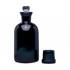WHEATON® 300mL BOD Bottles, Safety Coated, Robotic Stopper, case/20