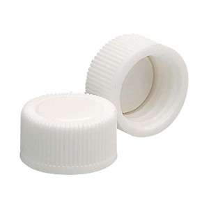 WHEATON® 13-425 White PP Caps with Poly Vinyl Liner, case/15,000
