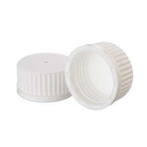WHEATON® 45mm PP Caps, White, No Inner-Seal, case/12