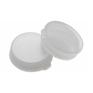 WHEATON® 22mm Snap Caps, Natural Polyethylene, Unlined, case/200