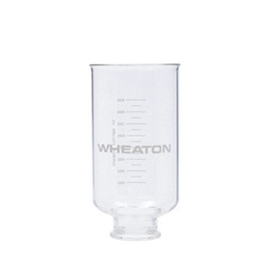 WHEATON® 500mL Glass Funnel for 47mm Vacuum Filtration Assemblies, Funnel Only