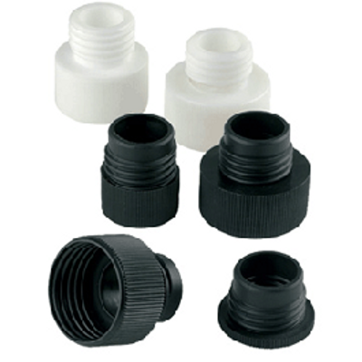 WHEATON® 28mm Screw Cap Adapter for 32mm Bottle Top Dispensers