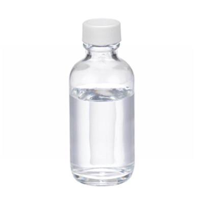 WHEATON® 2 oz Glass Boston Round Bottles, PTFE Lined PP Caps, case/24