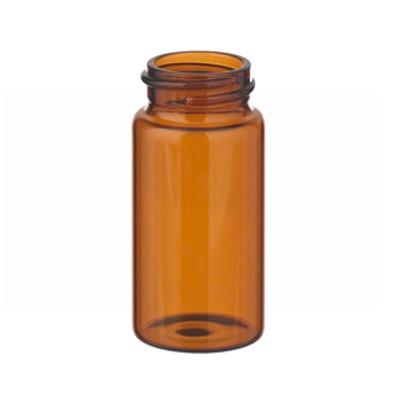 WHEATON® 20mL Amber Vials in a box, No Caps, case/200