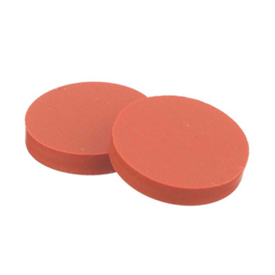 WHEATON® 15mm Septa, PTFE /Red Rubber, case/100