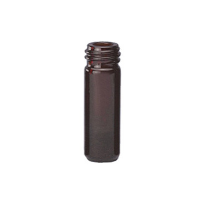 WHEATON® 1mL Amber Borosilicate Glass V-Vials, 13-425, No Caps, case/12