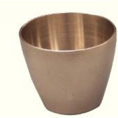 Nickel Crucible, High-Form, Rounded Pattern, 100mL