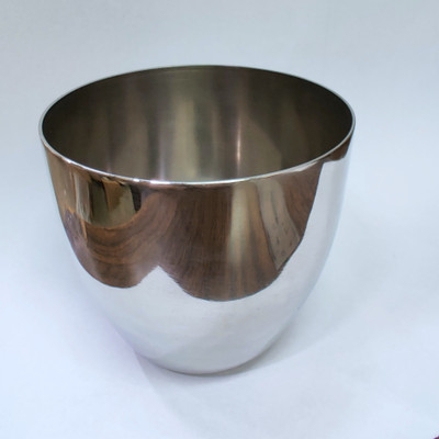 Nickel Crucible, High-Form, Rounded, 250mL with Optional Lid