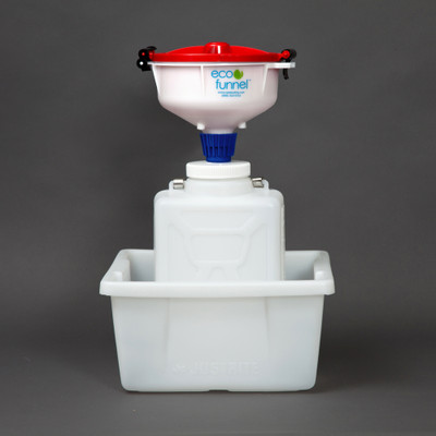 "8"" ECO Funnel System, 9 Liter, 100mm, Secondary Container"
