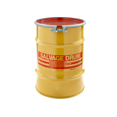 10 gal Salvage Drum, Bolt Ring Closure