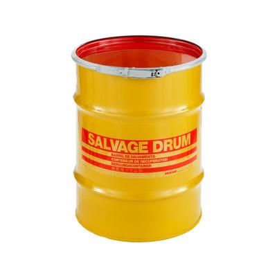 10 gal Salvage Drum, Lever lock Ring Closure