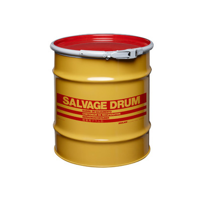 20 gal Salvage Drum, Lever lock Ring Closure
