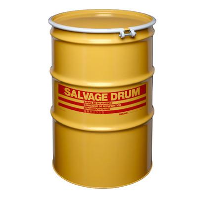 85 gal Salvage Drum, Bolt Ring Closure