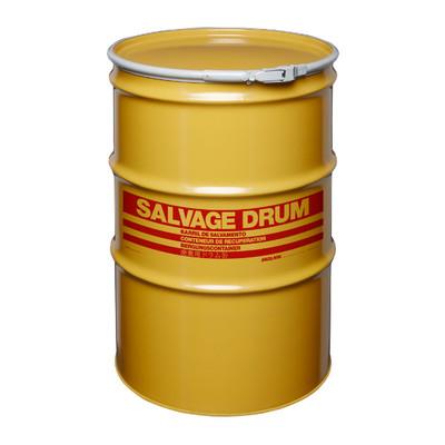 85 gal Salvage Drum, Lever lock Ring Closure